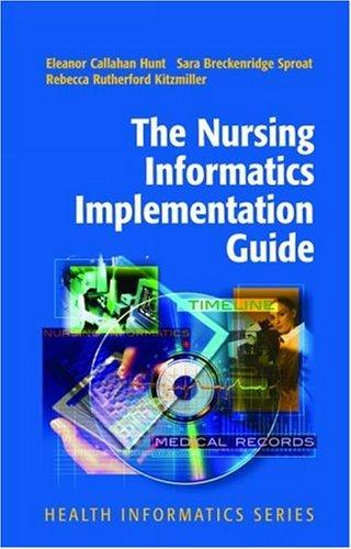 Nursing Informatics Implementation Guide   2004 edition cover