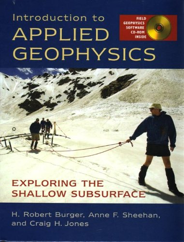 Introduction to Applied Geophysics Exploring the Shallow Subsurface  2006 edition cover
