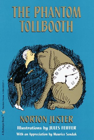 Phantom Tollbooth  35th 1989 (Reprint) 9780394820378 Front Cover