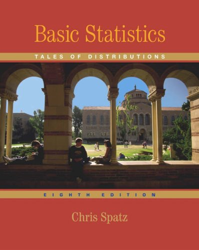 Basic Statistics Tales of Distributions 8th 2005 (Revised) 9780534611378 Front Cover