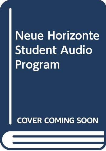 Student Audio Program Used with ... Dollenmayer-Neue Horizonte: Introductory German 6th 2003 edition cover