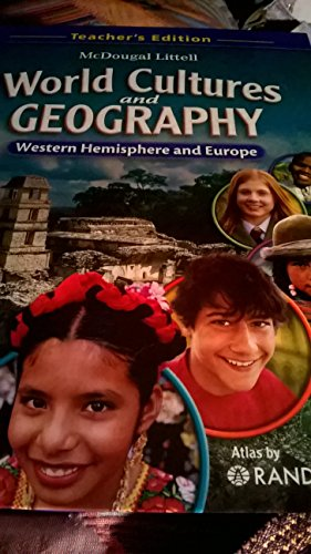 World Cultures & Geography W Hem W/Europe(TE)  2008 9780618887378 Front Cover