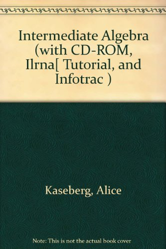 Introductory Algebra + CD-ROM + iLRN Tutorial + InfoTrac:  3rd 2006 9780618915378 Front Cover