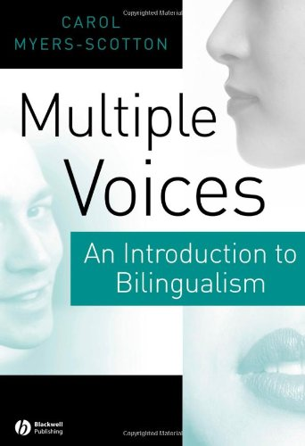 Multiple Voices An Introduction to Bilingualism  2006 edition cover