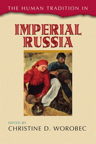 Human Tradition in Imperial Russia   2009 edition cover