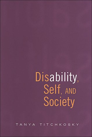 Disability, Self, and Society   2003 edition cover