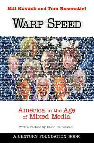 Warp Speed America in the Age of Mixed Media  1999 edition cover