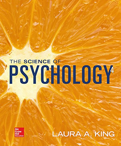 Science of Psychology: an Appreciative View - Looseleaf  4th 2017 9781259544378 Front Cover