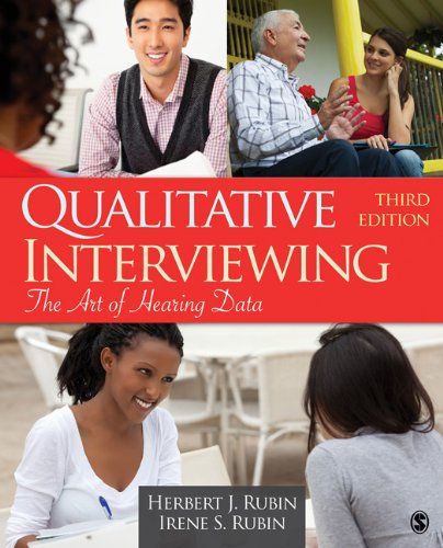 Qualitative Interviewing The Art of Hearing Data 3rd 2012 edition cover