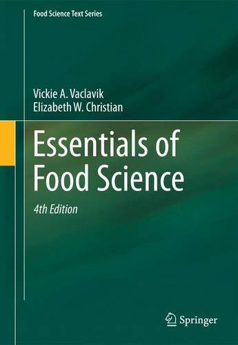 Essentials of Food Science  4th 2014 edition cover