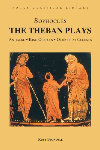 Theban Plays Antigone, King Oidipous and Oidipous at Colonus  2003 edition cover