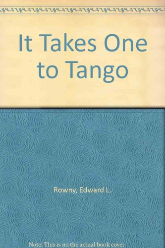 It Takes One to Tango   1992 edition cover