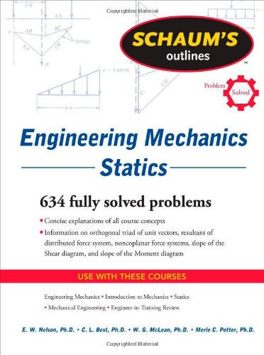 Engineering Mechanics - Statics 634 Solved Problems 6th 2011 edition cover