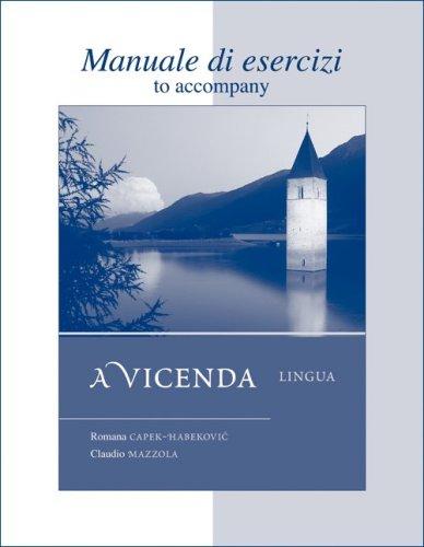 Vicenda - Lingua   2009 edition cover
