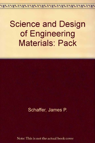 SCIENCE+DESIGN OF ENGR.MTRLS.- 2nd 1999 edition cover