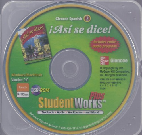 Asi Se Dice, Level 2, Student Works Plus-cd:   2009 edition cover