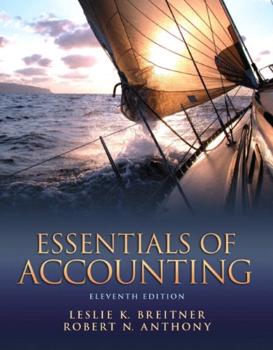 Essentials of Accounting  11th 2013 (Revised) edition cover