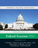 Prentice Hall's Federal Taxation 2016 Comprehensive  29th 2016 edition cover