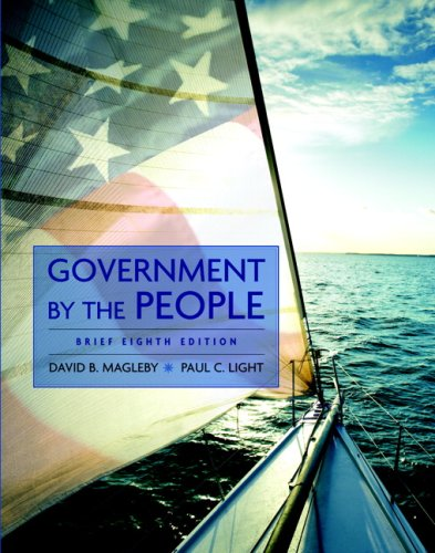 Government by the People, Brief Edition  8th 2009 edition cover