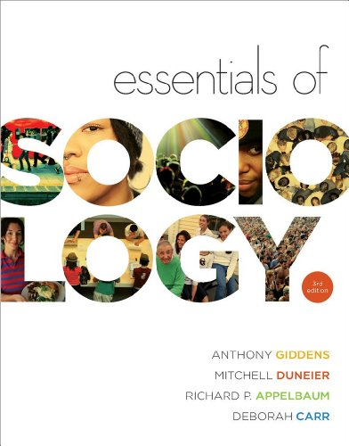 Essentials of Sociology  3rd 2010 edition cover