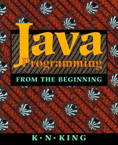 Java Programming From the Beginning  2000 9780393974379 Front Cover