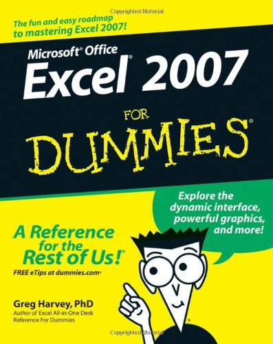 Microsoft Office Excel 2007 for Dummies�   2007 edition cover