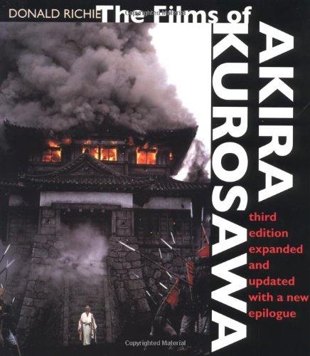 Films of Akira Kurosawa  3rd 1998 (Revised) edition cover