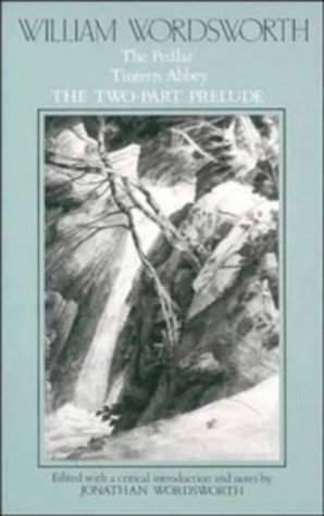 William Wordsworth The Pedlar, Tintern Abbey, the Two-Part Prelude  1985 9780521319379 Front Cover
