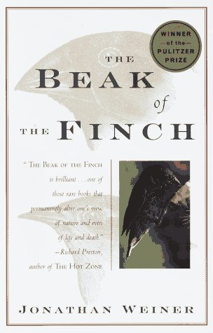 Beak of the Finch A Story of Evolution in Our Time N/A edition cover