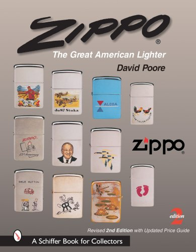 Zippo The Great American Lighter 2nd 2005 (Revised) edition cover