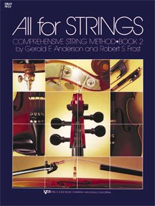All for Strings Conductor Score Bk. 2 : Cello N/A 9780849732379 Front Cover