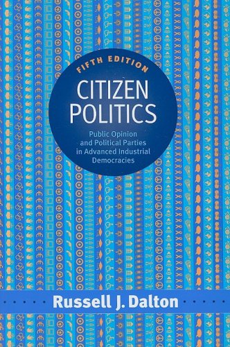 Citizen Politics Public Opinion and Political Parties in Advanced Industrial Democracies 5th 2008 (Revised) edition cover