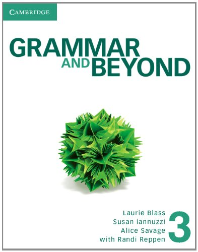 Grammar and Beyond Level 3 Student's Book and Workbook  N/A edition cover