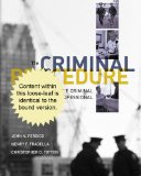 Cengage Advantage Books: Criminal Procedure for the Criminal Justice Professional  11th 2013 edition cover