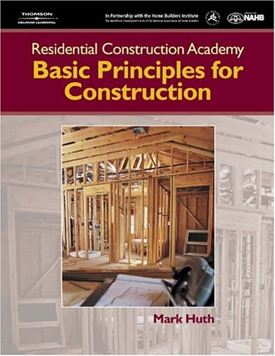 Basics Principles for Construction   2004 9781401838379 Front Cover