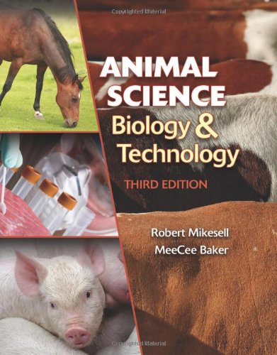 Animal Science Biology and Technology  3rd 2011 edition cover
