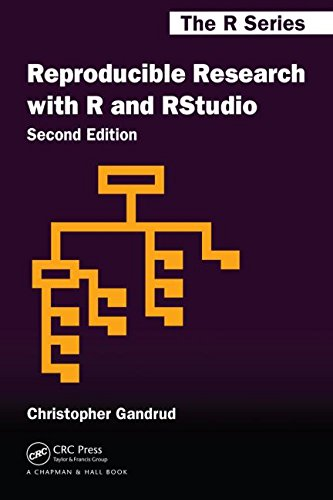 Reproducible Research with R and R Studio, Second Edition  2nd 2015 (Revised) edition cover