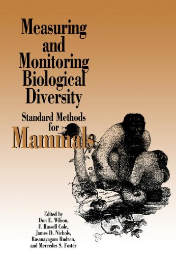 Measuring and Monitoring Biological Diversity Standard Methods for Mammals  1996 9781560986379 Front Cover
