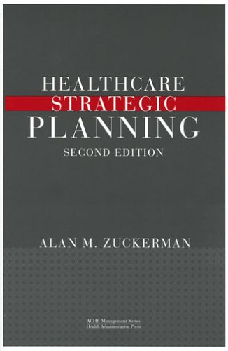 Healthcare Stategic Planning  2nd 2005 edition cover