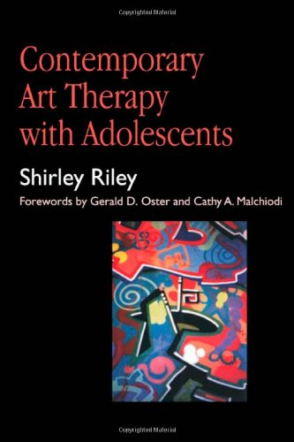 Contemporary Art Therapy for Adolescents   1999 edition cover