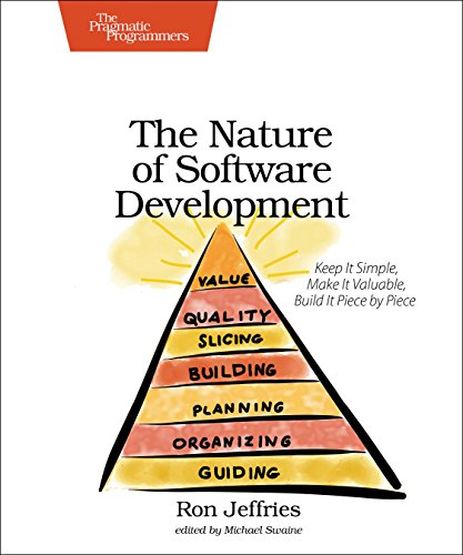 Nature of Software Development Keep It Simple, Make It Valuable, Build It Piece by Piece  2015 9781941222379 Front Cover