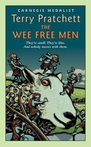 Wee Free Men   2003 (Reprint) edition cover