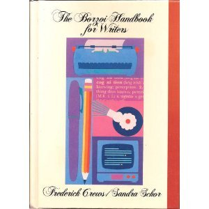 Borzoi Handbook for Writers 3rd 1993 edition cover
