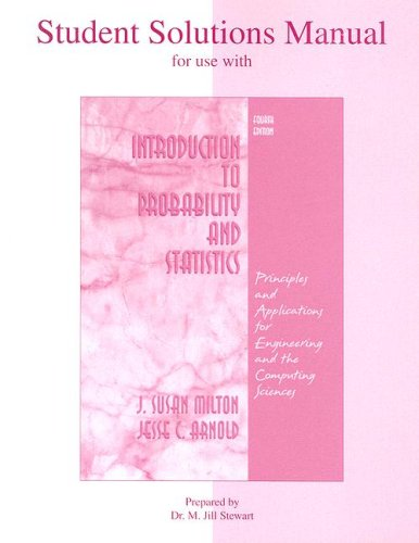 Introduction to Probability and Statistics  4th 2003 edition cover
