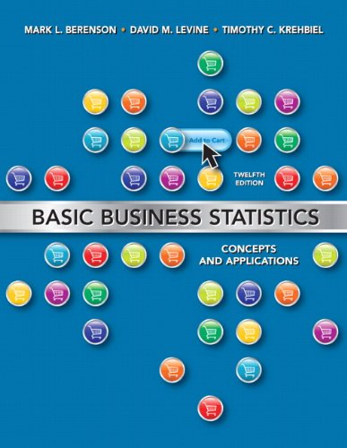 Basic Business Statistics  12th 2012 edition cover