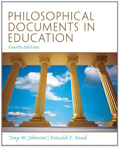 Philosophical Documents in Education  4th 2012 edition cover
