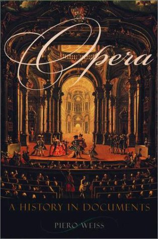 Opera A History in Documents  2002 edition cover