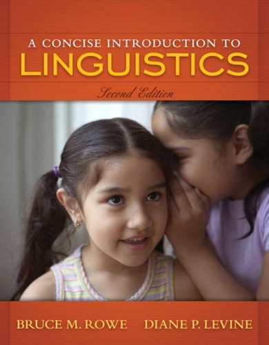 Concise Introduction to Linguistics  2nd 2009 edition cover