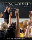 Becoming a Teacher  4th 2012 9780205767380 Front Cover
