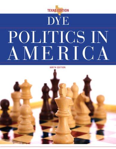 Politics in America, Texas Edition  9th 2011 edition cover